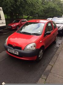 Toyota Yaris, 1L, Needs repaired,Quick sale.