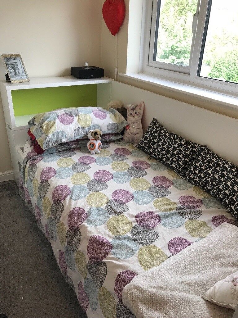 Ikea Single Day Bed With End Pull Out Bookcase In The Headboard In Hanham Bristol Gumtree