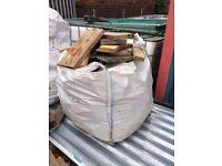 Off cuts of wood £20 per ton bag