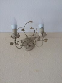 Next White Flower Ceiling and Wall Lights