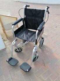 Drive folding wheelchair