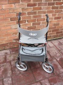 Drive Medical Nitro Rollator (Walking Aid) In New Condition