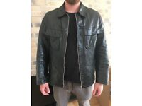 Dolce and gabbana d&g leather jacket and Abercrombie & Fitch jacket