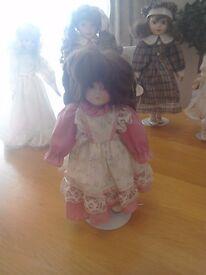 Knightsbridge porcelain dolls
