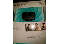 Logitech C525 Webcam In Box