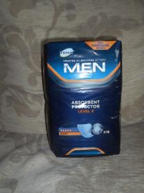 TENA MEN ABSORBENT PROTECTOR LEVEL 3 SUPER X 16 IN PACK X 6 PKS