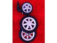 Quinny Buzz - set wheels with tubes
