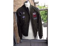 Mens Topman Bomber Jacket (Size Small)