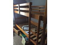 Pine Single Bunk Beds