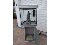 Cube fish tank - 130 litre
