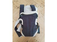 MAMAS & PAPAS baby carrier with hood attachment