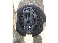 Citroen C1 spare wheel