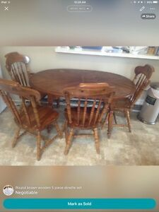 5 Piece Kitchen Table and Chairs