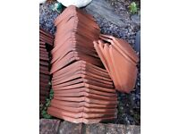 Rosemary Clay Roof Tiles. NEW & FREE. Ideal small repair /renovation. 100+ corners, valley, bonnets.