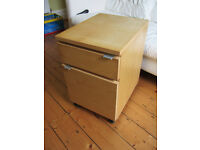 IKEA Small filing cabinet/bed side table for sale £10