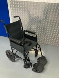 Wheelchair attendant model small compact normal size seat