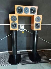 Speakers with stands