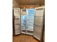 Daewoo American Style Fridge Freezer with Ice Maker