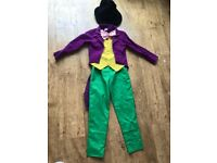 Willy wonka dress up costume