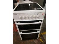 Beko 50cm electric cooker free delivery in Leicester