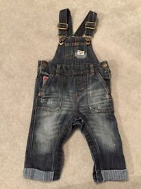 Next Dungarees (6-9 Months) Used Good Condition