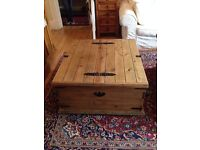 Double Storage Chest/Coffee Table