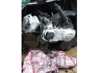 Vespa gts 250 engine and loom