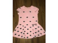 KENZO GIRLS DRESS 18M