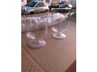 Wine Glases Tall and Thin or Presentation Pots - CHEAP!