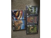 5 kids PlayStation 2 games