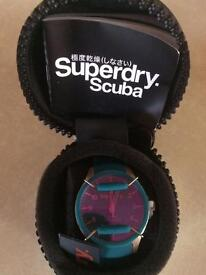 Ladies / girls Superdry Scuba watch