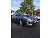 2013 Vauxhall Astra low miles (cat d)