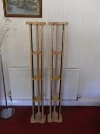 2 CD OR DVD TOWERS. EXCELLENT CONDITION