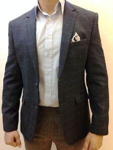 Designer-pour-homme-tweed-vintage-Manteau-Blazer-verifie