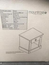 Single drawer bedside unit