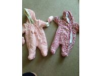 New born up to 1month baby girls bundle