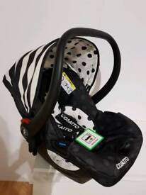 NEW Cosatto Hold 0+ CAR SEAT RRP £165
