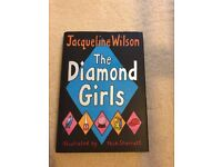 The Diamond Girls by Jacqueline Wilson 2004 Hardback Book - Excellent Condition (£3 + £2 POSTAGE)