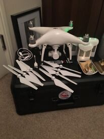 DJI PHANTOM 4 drone good as new flown 3 times £900 would consider swap for iPhone x plus some cash
