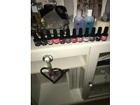 Collection of Gellux gel polish
