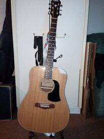 Acoustic guitar Aria aw-75n