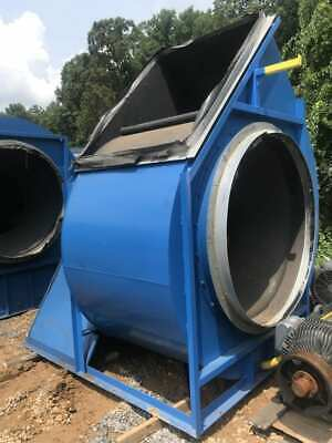 Chicago Size 600 Industrial Centrifugal Blower W125 Hp Motor