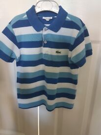 Boys Lacoste T-shirt in age 6