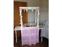 Wedding sweetie trolley