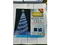 Brand new ribbon Christmas tree