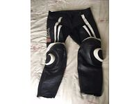 Size 38 Mens Leather Bike Trousers