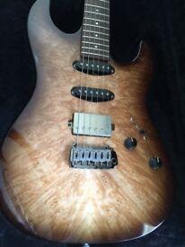 Patrick eggle custom shop Koya top guitar