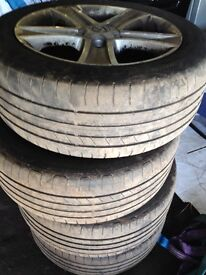 Mazda 6 allow Wheels with tyres 205/55R16 and more parts (2002-2006)