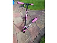 Flicker A3 Air Pink Scooter in great condition