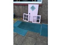 door and windows for wooden playhouse